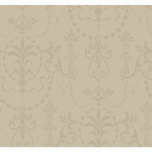 Glass Bead Ornamental Wallpaper FD8402
