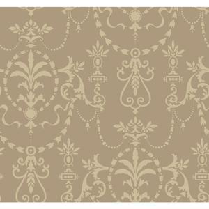 Glass Bead Ornamental Wallpaper FD8403