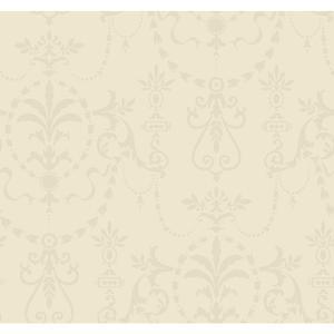 Glass Bead Ornamental Wallpaper FD8404
