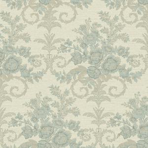 Floral Woven Wallpaper FD8418