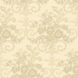 Floral Woven Wallpaper FD8421