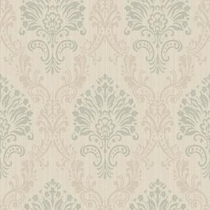 Fabric Damask Wallpaper FD8427