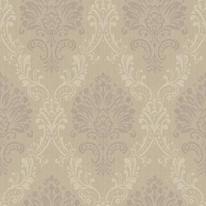 Fabric Damask Wallpaper FD8428