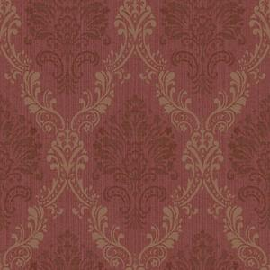 Fabric Damask Wallpaper FD8429