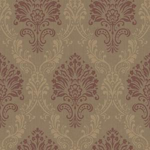 Fabric Damask Wallpaper FD8433