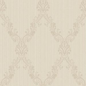 Fabric Damask Frame Wallpaper FD8438