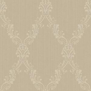 Fabric Damask Frame Wallpaper FD8439