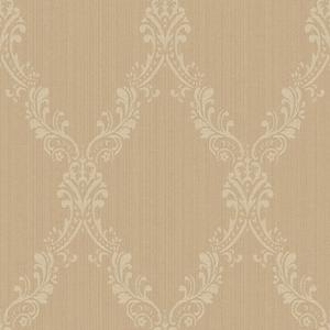 Fabric Damask Frame Wallpaper FD8441