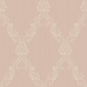 Fabric Damask Frame Wallpaper FD8442