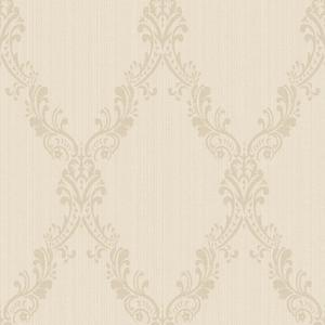 Fabric Damask Frame Wallpaper FD8443