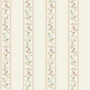 Floral Stripe Wallpaper FD8461