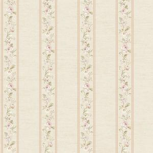 Floral Stripe Wallpaper FD8462