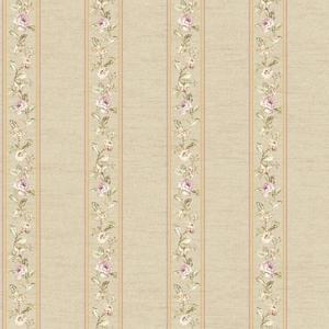 Floral Stripe Wallpaper FD8463