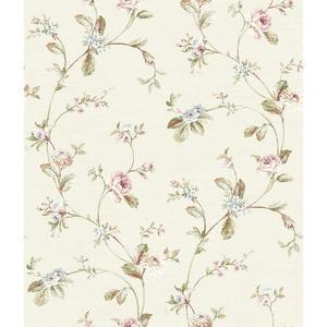 Ornamental Floral Trail Wallpaper FD8479