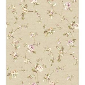 Ornamental Floral Trail Wallpaper FD8481