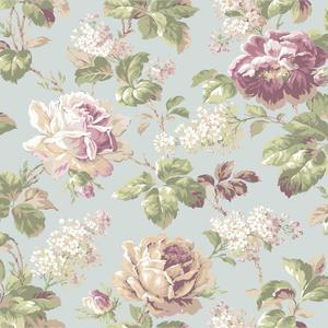 Rose Floral Wallpaper FD8496