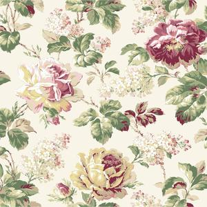 Rose Floral Wallpaper FD8499