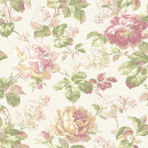 Rose Floral Wallpaper FD8501