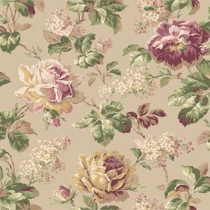 Rose Floral Wallpaper FD8502