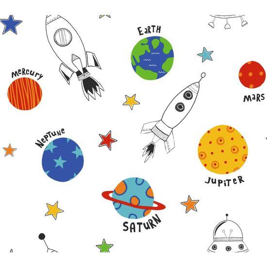 Rocket Space Wallpaper BS5384
