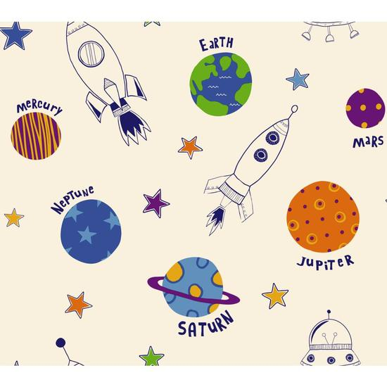 Rocket Space Wallpaper BS5385
