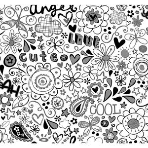 Doodlerific Wallpaper BS5416