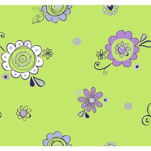 Doodlerific Floral S Wallpaper BS5423