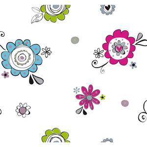 Doodlerific Floral S Wallpaper BS5424