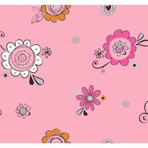 Doodlerific Floral S Wallpaper BS5426