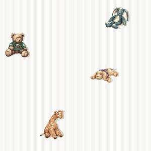 Stuffed Animal Spot Wallpaper BS5530