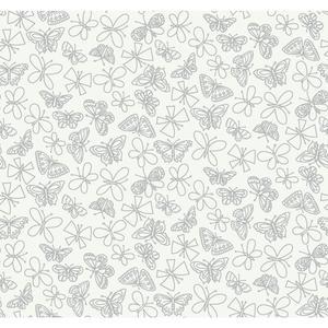 Glitter Butterfly Wallpaper BS5539