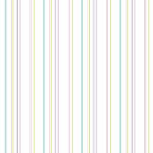 Wide Multi Stripe Wallpaper KS2451