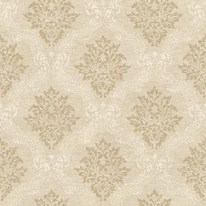 Framed Damask Wallpaper JR5763