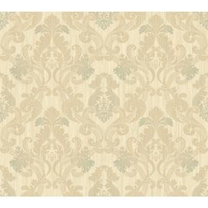 Framed Ombre Damask Wallpaper EM3866