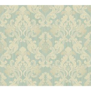 Framed Ombre Damask Wallpaper EM3867