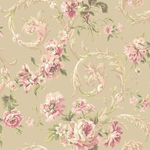 Rococco Floral Wallpaper EM3883
