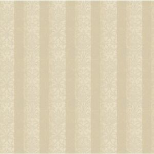 Metallic Stripe Damask Wallpaper BQ3800