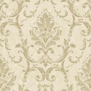 Neoclassical Damask Wallpaper BQ3809