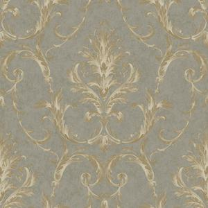 Neoclassical Damask Wallpaper BQ3810