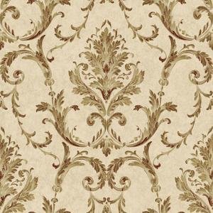 Neoclassical Damask Wallpaper BQ3812