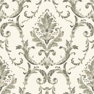 Neoclassical Damask Wallpaper BQ3814