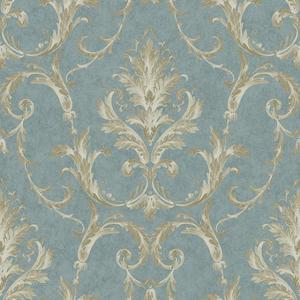 Neoclassical Damask Wallpaper BQ3815