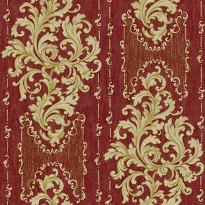 Embroidered Damask Wallpaper BQ3831