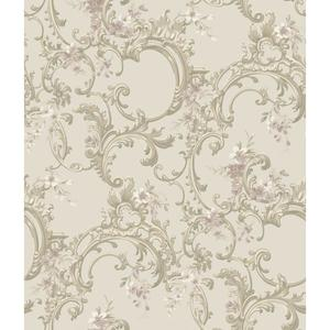 Multicolor Floral Trail Wallpaper BQ3882