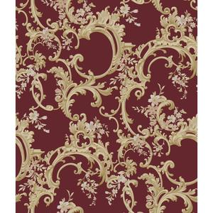Multicolor Floral Trail Wallpaper BQ3883