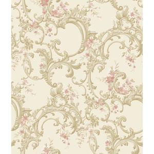 Multicolor Floral Trail Wallpaper BQ3884