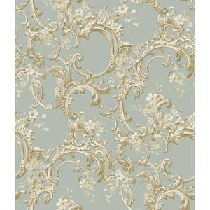 Multicolor Floral Trail Wallpaper BQ3885