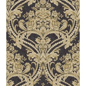 Baroque Floral Damask Wallpaper BQ3890