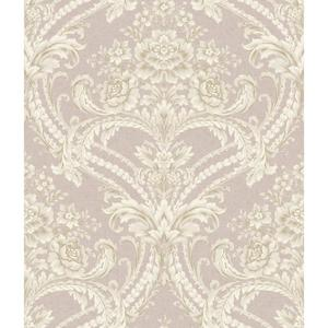 Baroque Floral Damask Wallpaper BQ3895