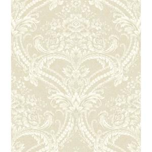 Baroque Floral Damask Wallpaper BQ3896